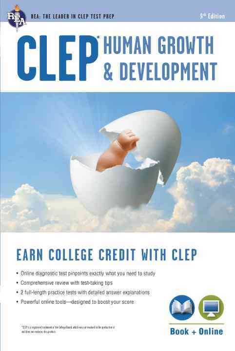 CLEP Human Growth & Development By Heindel, Patricia